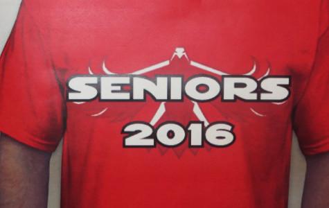 Seniors will select a new class shirt