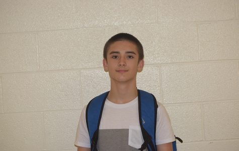 Humans of West- Sophomore Brandon Davis