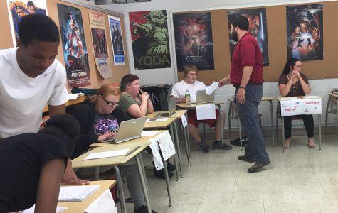 Speech Class Job Fair