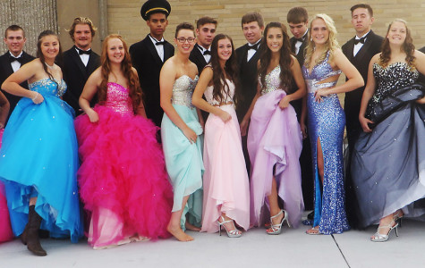 Homecoming queen candidates put their best foot foward