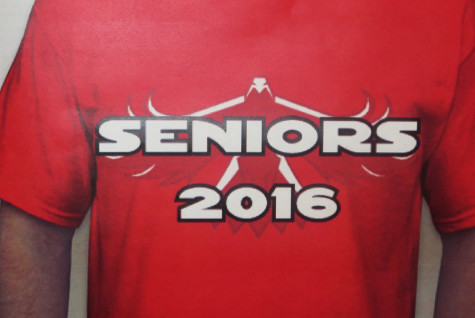 The first senior class of 2016 T-shirt design has not been popular with students.