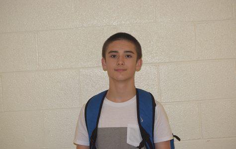 Humans of West- Sophomore Brandon Davis