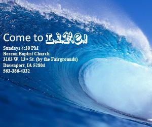 Come to L.I.F.E.! Sundays 4:30 PM  Berean Baptist Church 3103 W.
