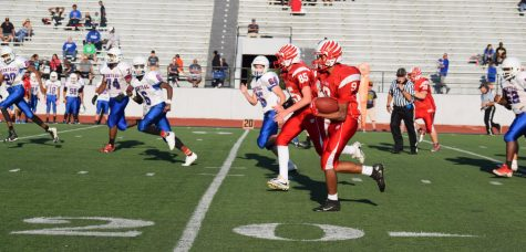 Sophomore football team starts season strong