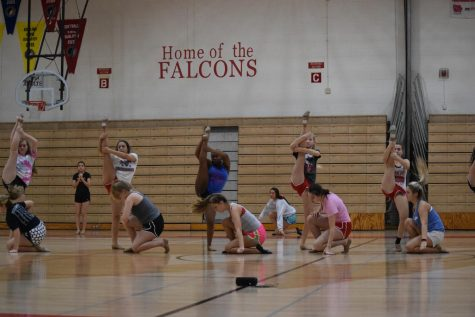 West High Diamond Dancers