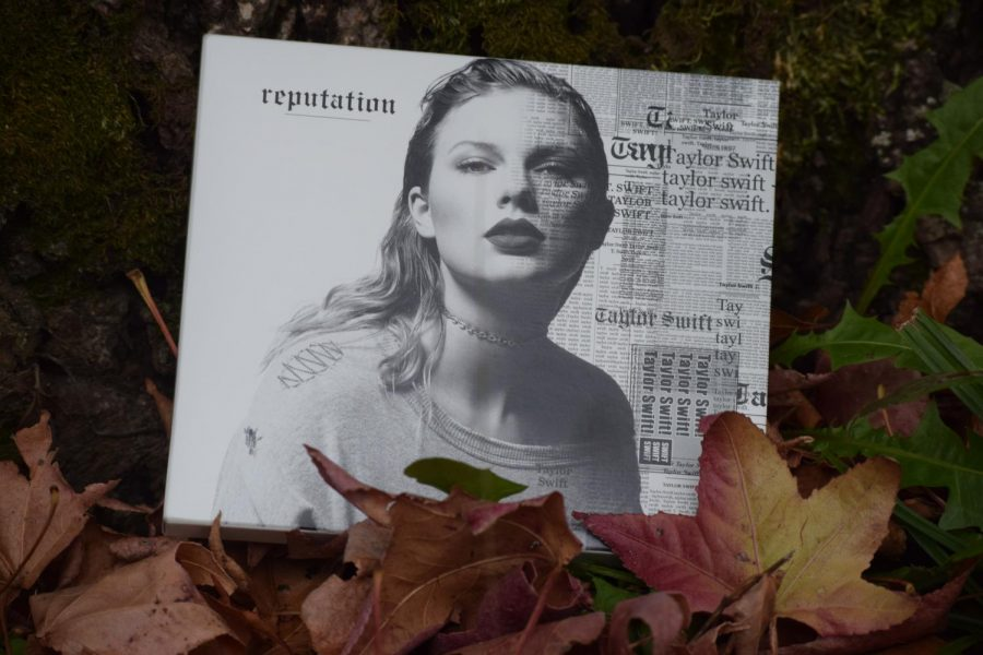 The+cover+of+the+album+%22Reputation%2C%22++the+latest+album+from+Taylor+Swift.