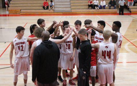 Boys basketball goes against Central Dewitt