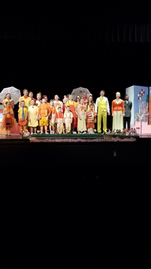 """On Mar. 31 through April. 1 the musical """"Seussical"""" was performed at West for an audience of all ages."""