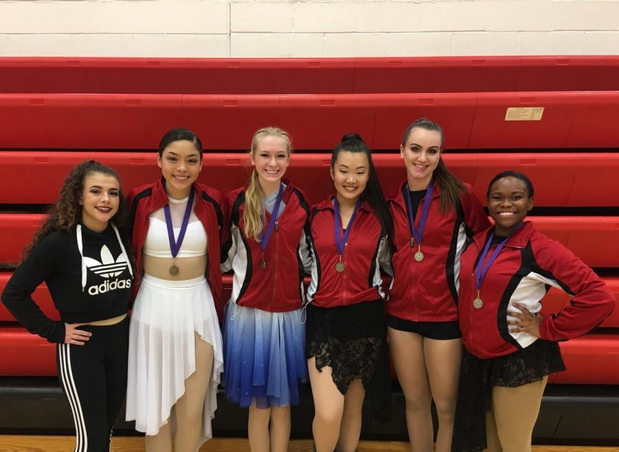 Five Diamond Dancers received Division one ratings for their state solos. The dancers were  junior Leah Anderson, senior Ciara Klinghammer, senior T'Reaia Malone, junior Emily Monroe, and junior Mia Nelson.