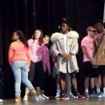 Seniors won the lip sync battle against the teachers, while raising money for the Student Hunger Drive.