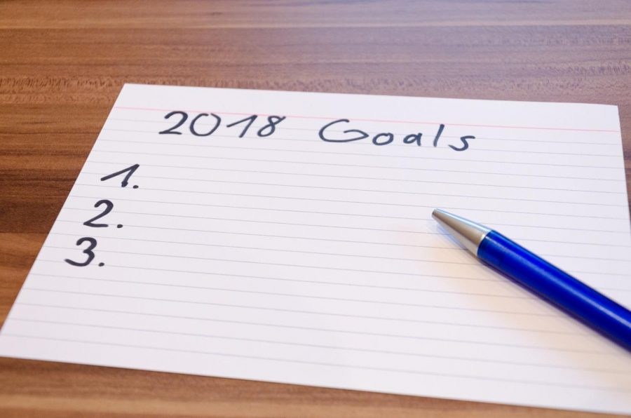 2018+marks+a+new+year+to+set+and+conquer+goals+to+improve+oneself.