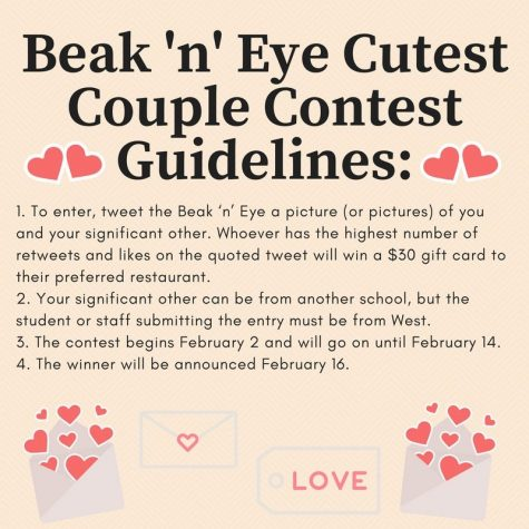 Cutest Couple Twitter Contest begins Feb. 1