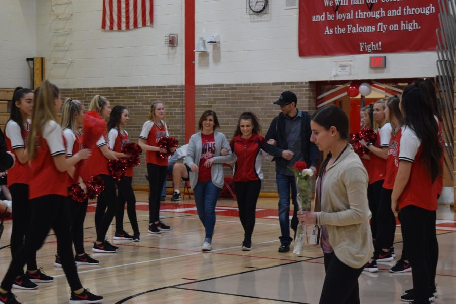 """Tatiana Stepanek has been dancing for 13 years and being on the team has taught her many valuable lessons.  """"Dance team has taught me to get along with people and how to be a better teammate and person all around."""" Stepanek said."""