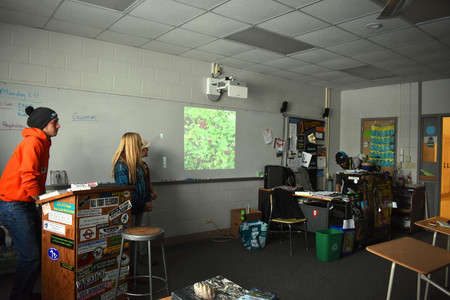 Living Lands and Waters speaking to the Ecology club on Monday, February 12th in room 207.