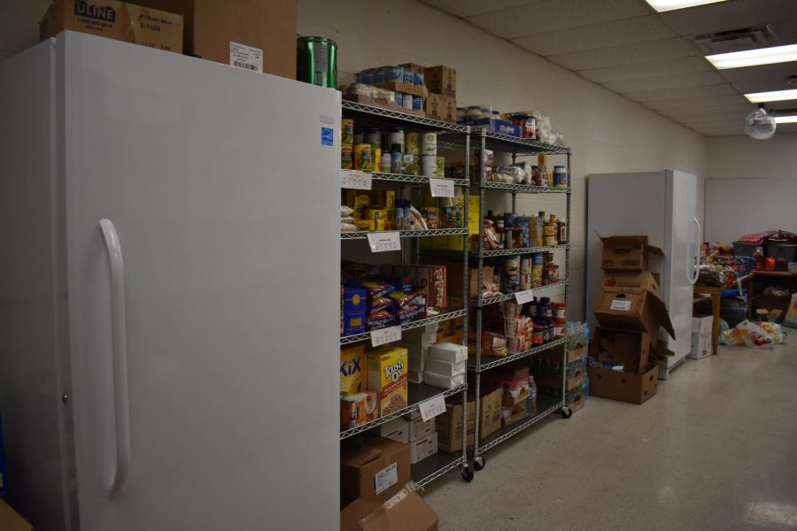The West food pantry is on its second year of feeding families in the community.