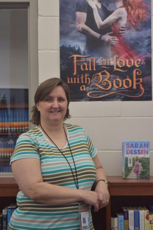 This is teacher librarian Jen Kizer's first year at West.