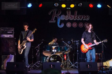 Riding Atlas performs at the Redstone Room.