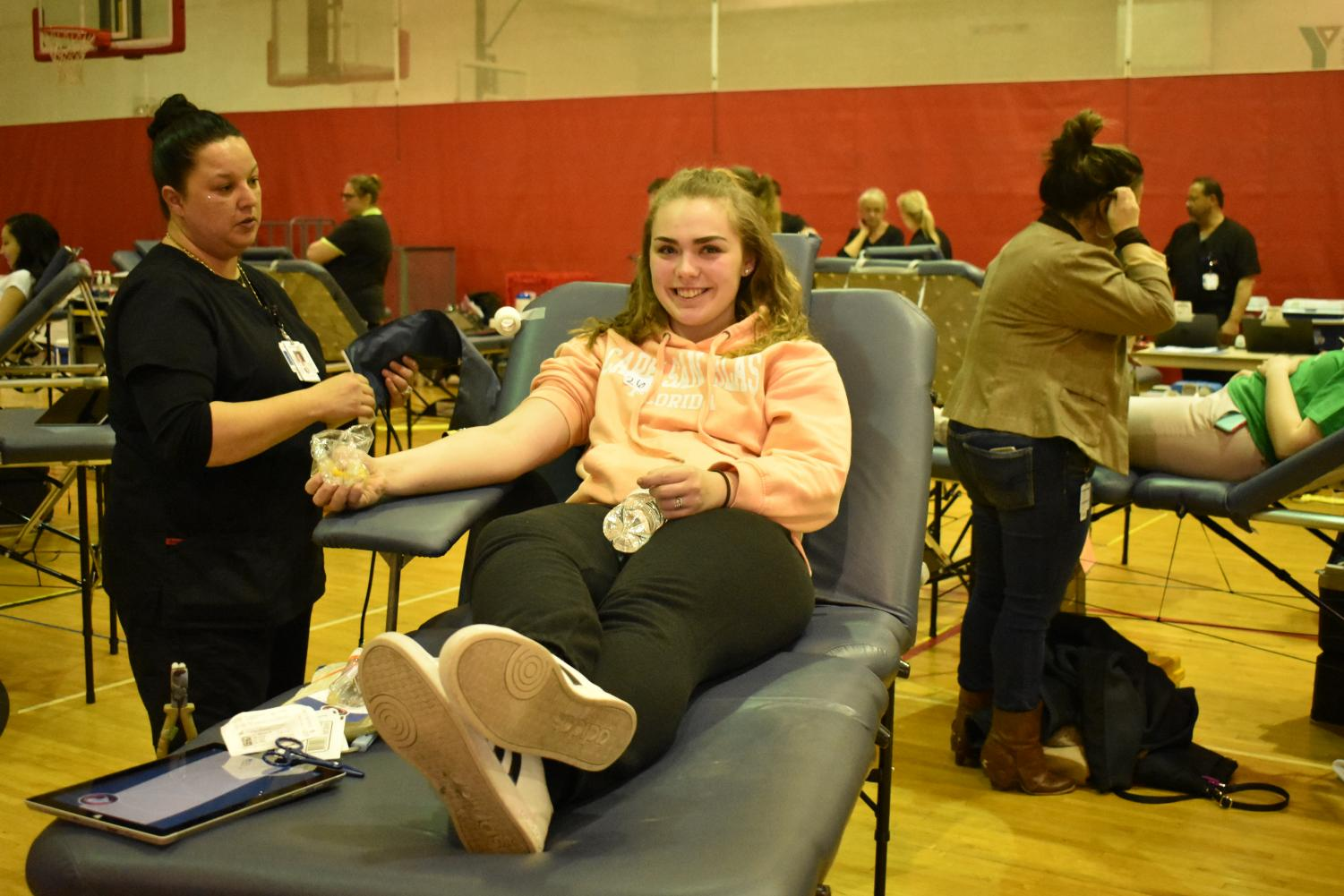 One last drop for the Mississippi Valley Regional Blood Center