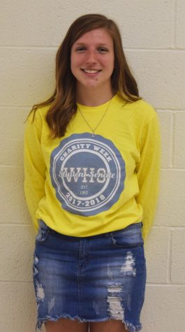 Humans of West-Senior Cami Schrier
