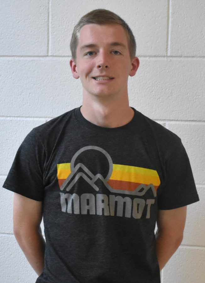 Nicholas Nahnybida is a junior and started running track two years ago.