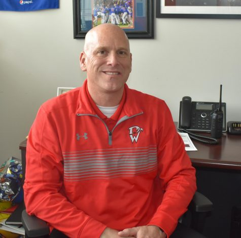 Associate principal Guy Heller will be transferring to Central High School due to district wide changes for the 2018-19 school year.