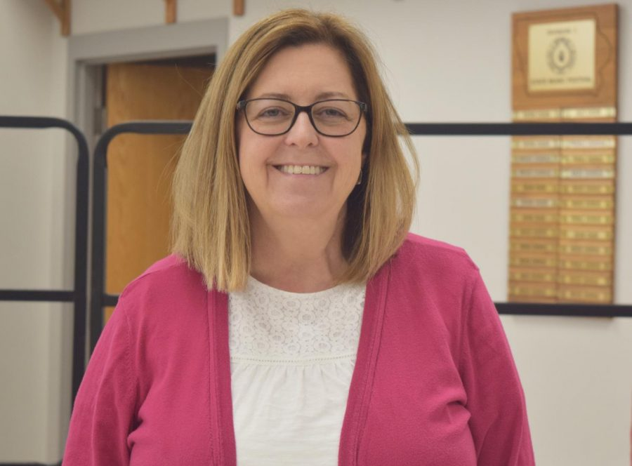Choir director Colleen Schloemer has been teaching for 28 years. She will be leaving West and retiring after the 2017-18 school year.