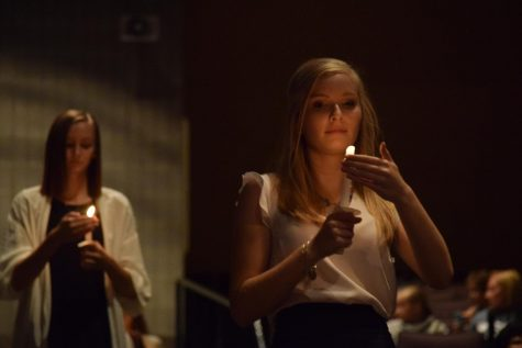 Fifty-eight students inducted into National Honors Society