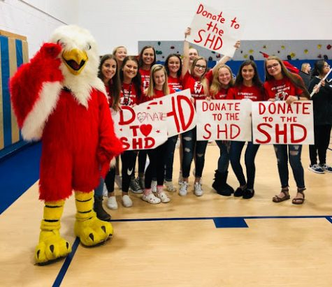 West drives home the Student Hunger Drive
