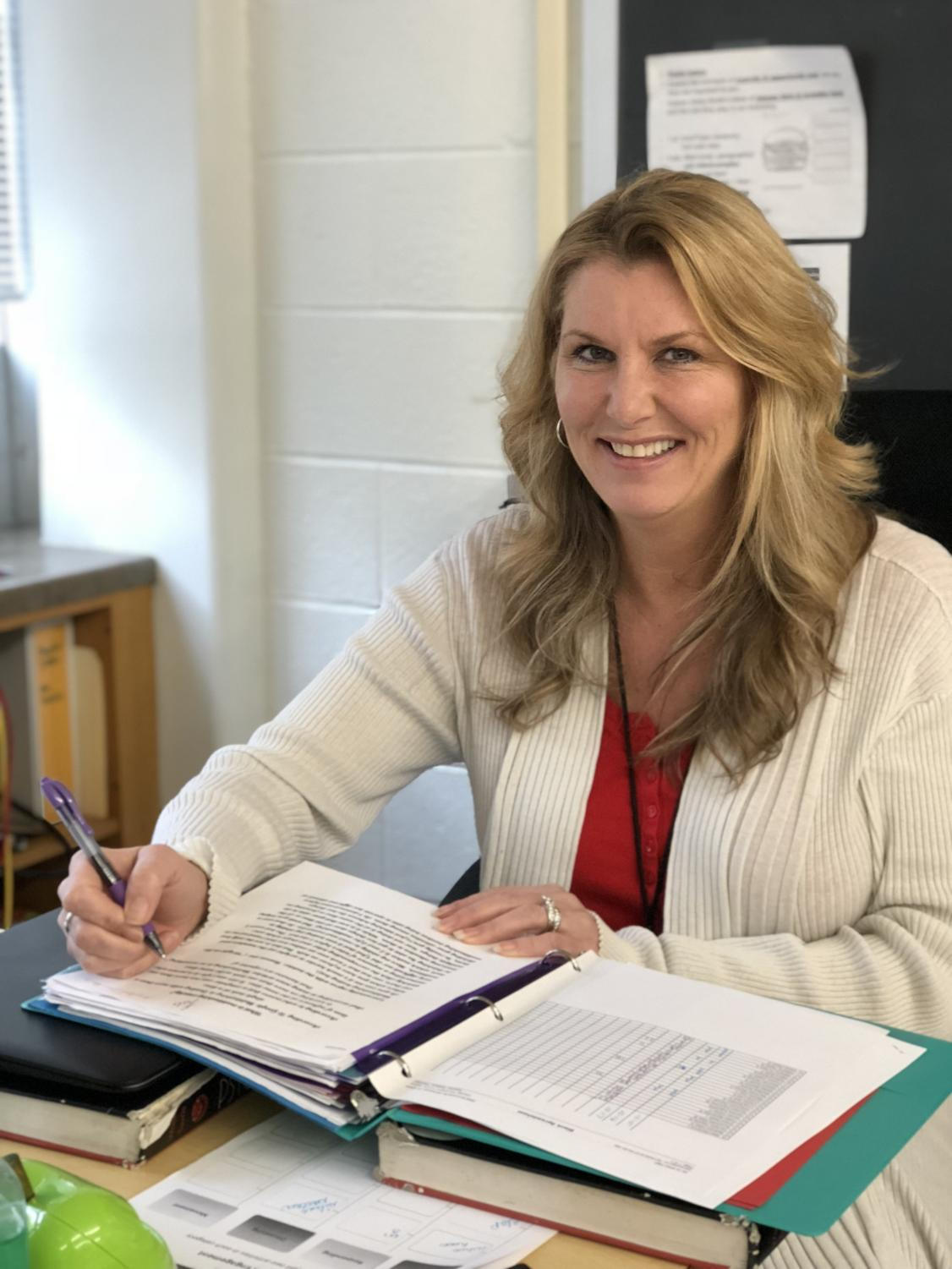 Melissa Wallace/Bertelsen is a social studies and psychology teacher that represents the meaning of authenticity.
