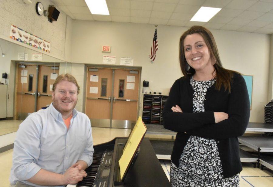 Choir directors Nick Andersen and Laura Engels are the new choir directors at West and plan on big changes coming soon.