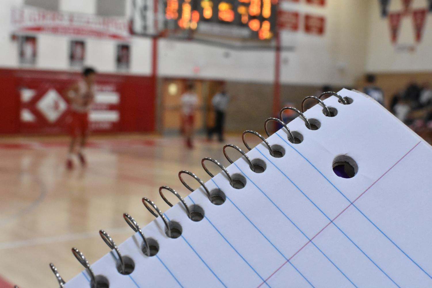 "Good grades were required to play in the West versus Pleasant Valley boy basketball game on Feb 4. In fact, good grades are required to get play time. A student athlete's favorite part of the game is the opportunity to play. ""Don't focus on things that you can't control and always do your homework before you do anything else to be able to play,"" senior and student athlete Kyle Burton said."