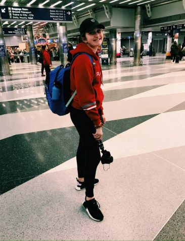 "As flights were cancelling, Westerhof noticed a large drop in the amount of people traveling through the airports. ""The airports were pretty busy when we were on our way there, but on the way home people were more scarce and everything was closed,"" sophomore Claire Westerhof said."