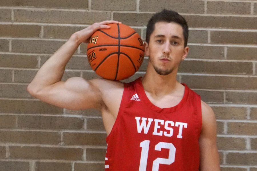 """Erwin shares some qualities with his older brother, Brett Erwin, who graduated from West in 2018. They both played basketball all four years of high school. """"They're both hard working. They were obviously raised really well so they're both great kids. I think Derek is a little more outgoing towards everyone else,"""" Paulson said."""